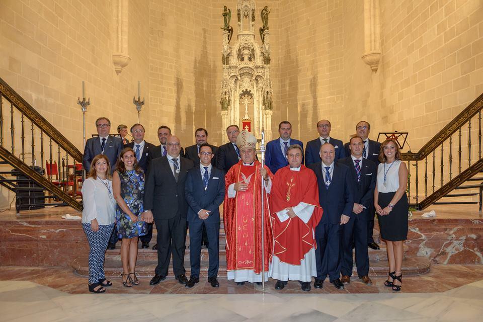El Consejo tomó posesión en una recién restaurada parroquia de Santiago / UHH Jerez