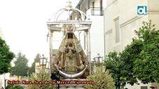 Así salió la Virgen de la Merced