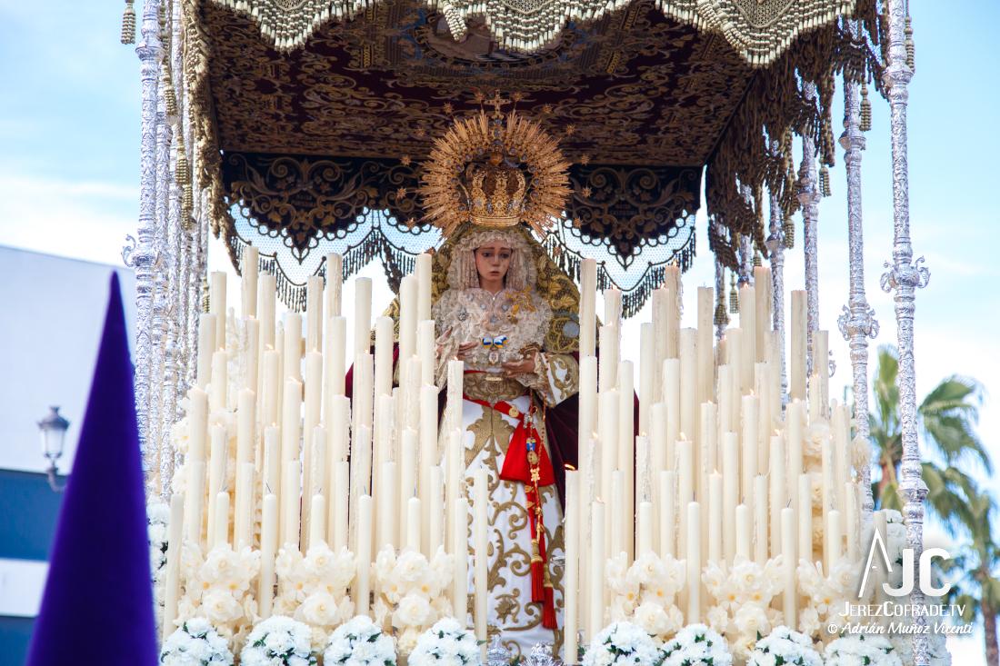 La Candelaria Procesionará En El Corpus De Santa Ana Jerez Cofrade