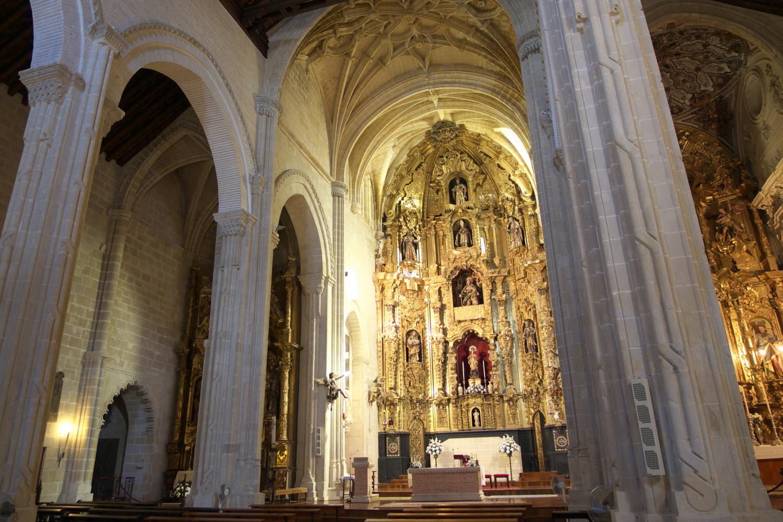 Interior de la Iglesia de San Dionisio