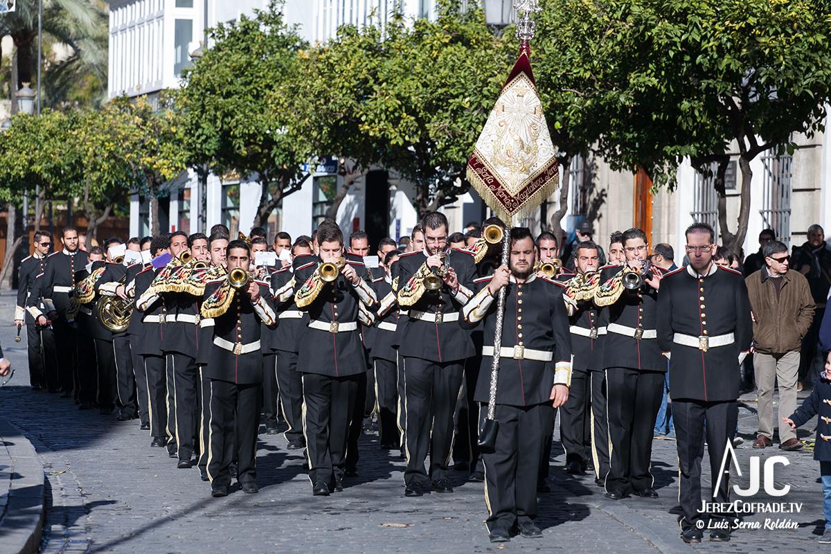 La Banda de Cornetas y Tambores 'Santa María Magdalena' de nuestra ciudad, sin presencia en la próxima Semana Santa de Jerez / Luis Serna