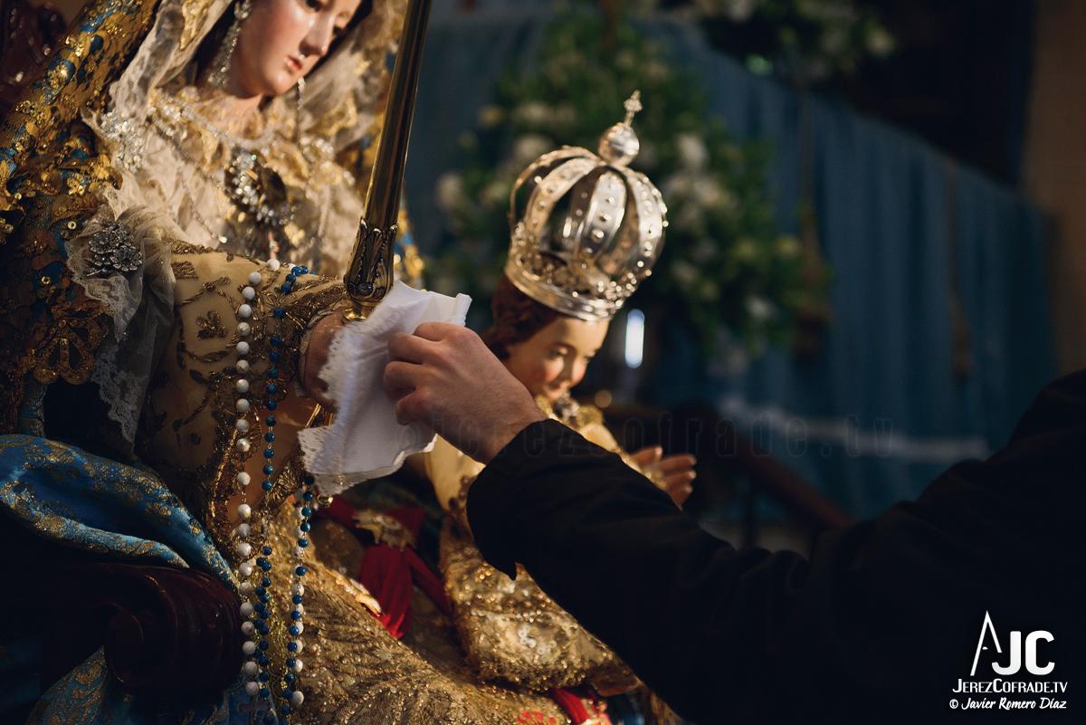 003 – Besamanos Santa María de la Paz y Concordia Gloriosa – jerezcofrade – Javier Romero Diaz