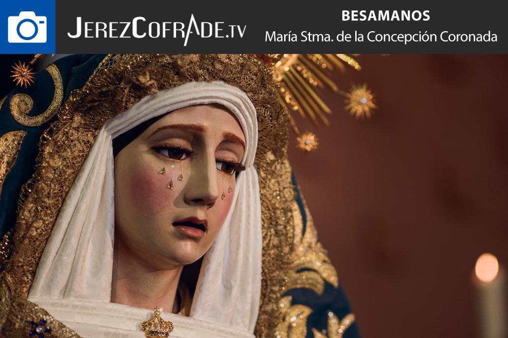 Besamanos Concepcion Coronada – jerezcofrade – Javier Romero Diaz