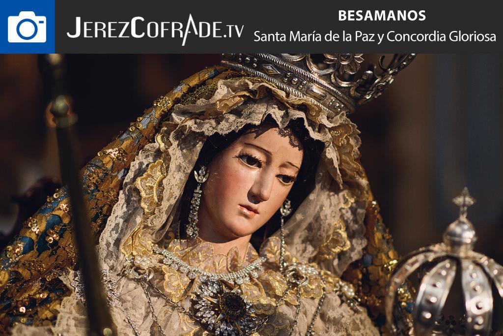 Besamanos Santa María de la Paz y Concordia Gloriosa – jerezcofrade – Javier Romero Diaz