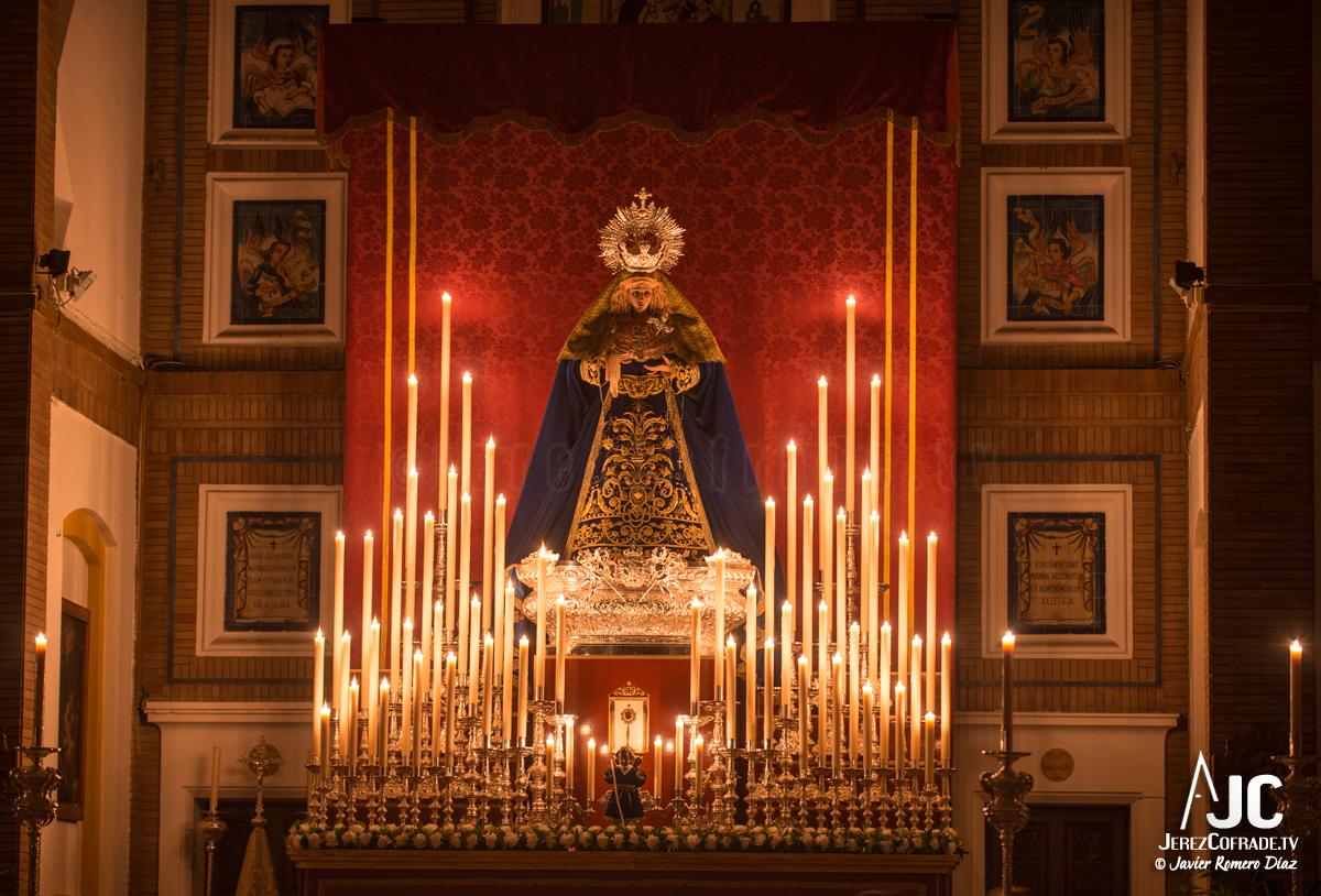001Candelaria – A la luz de las velas – Jerez Cofrade – Javier Romero Diaz