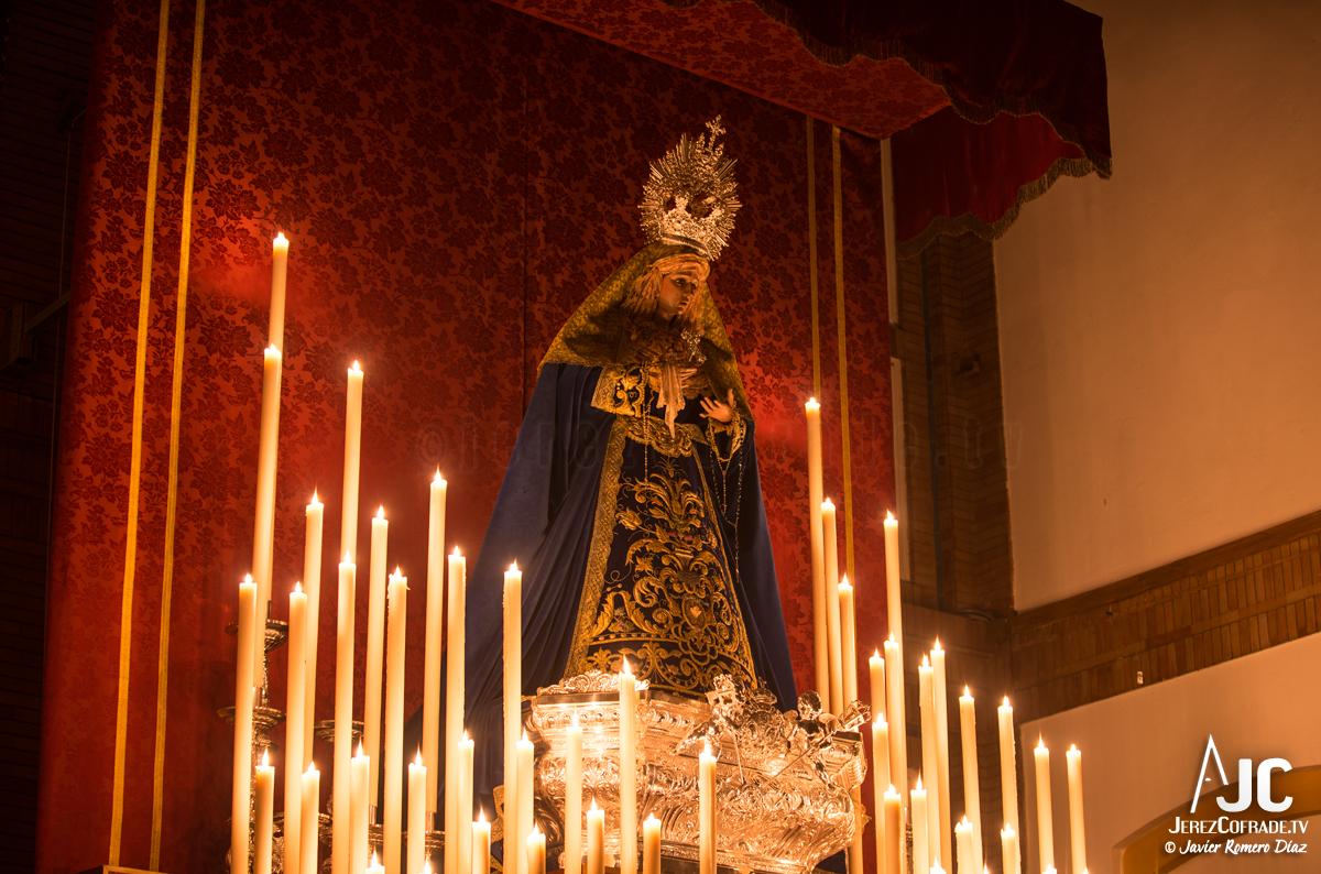 002Candelaria – A la luz de las velas – Jerez Cofrade – Javier Romero Diaz