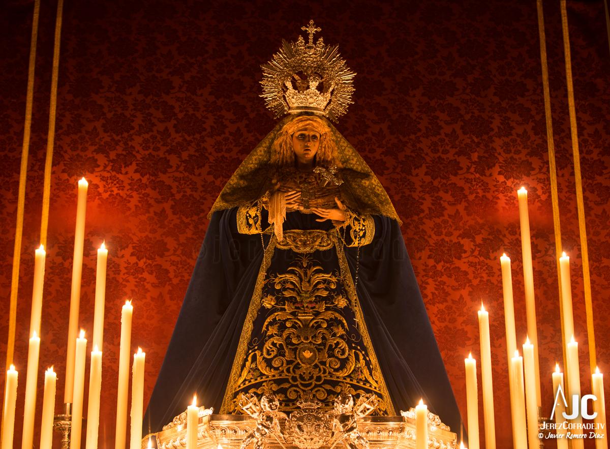 003Candelaria – A la luz de las velas – Jerez Cofrade – Javier Romero Diaz