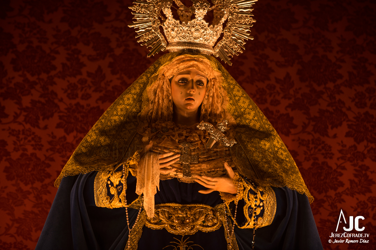 004Candelaria – A la luz de las velas – Jerez Cofrade – Javier Romero Diaz