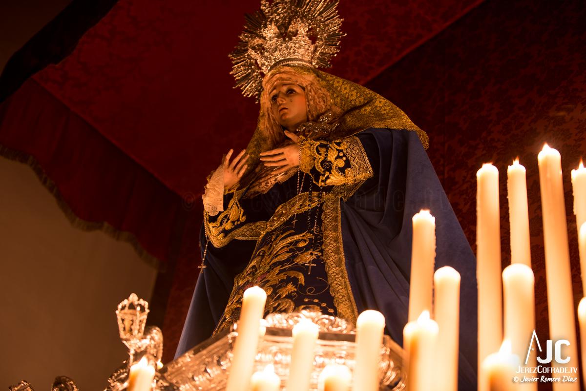 006Candelaria – A la luz de las velas – Jerez Cofrade – Javier Romero Diaz