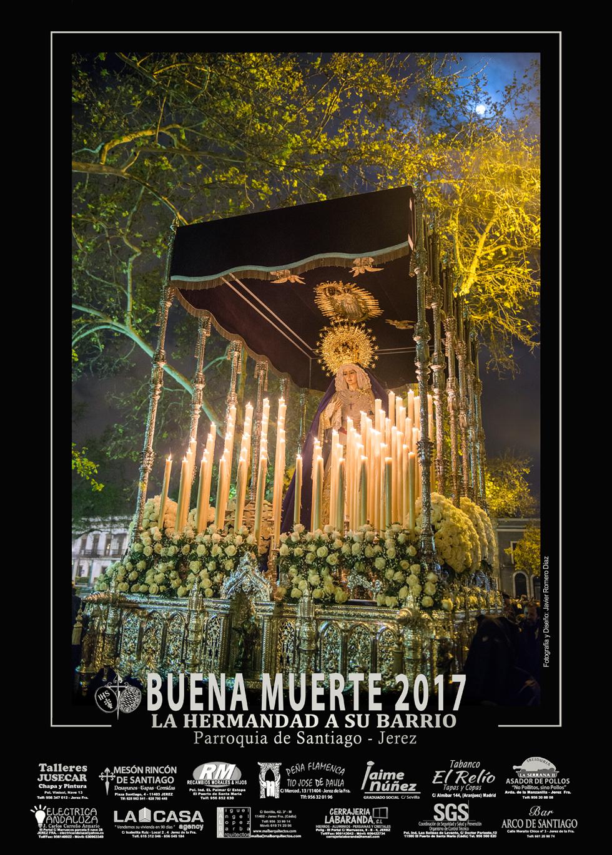 Cartel Hermandad Buena Muerte 2017