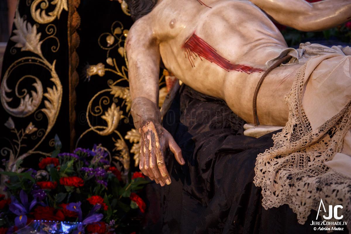 Sagrada Mortaja Caridad – Miercoles de Ceniza – Jerez 2017 (2)