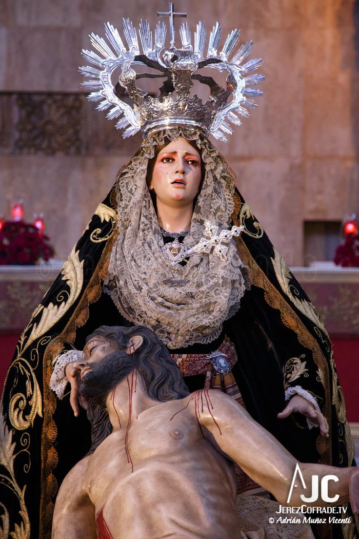 Sagrada Mortaja Caridad – Miercoles de Ceniza – Jerez 2017 (4)