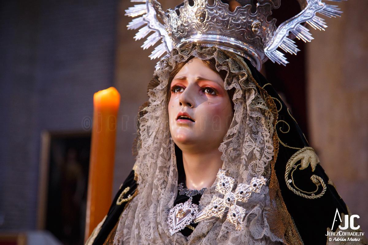 Sagrada Mortaja Caridad – Miercoles de Ceniza – Jerez 2017 (7)