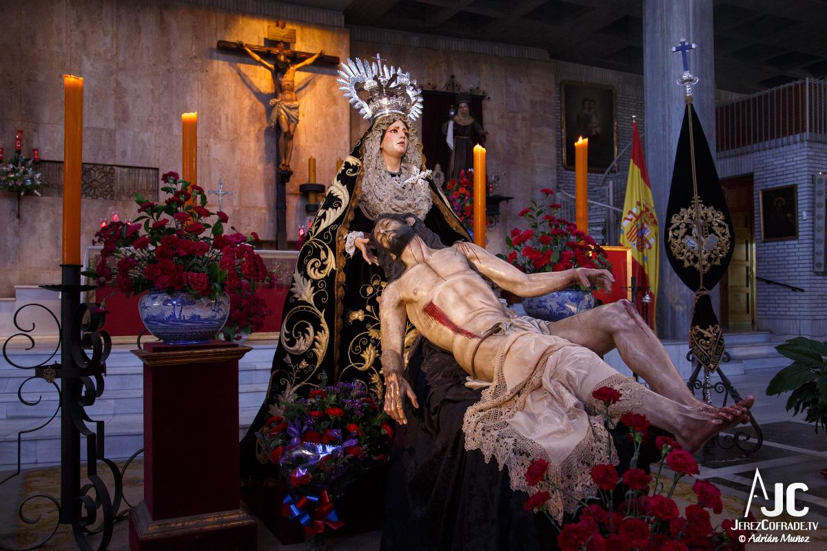 Sagrada Mortaja Caridad – Miercoles de Ceniza – Jerez 2017 (8)