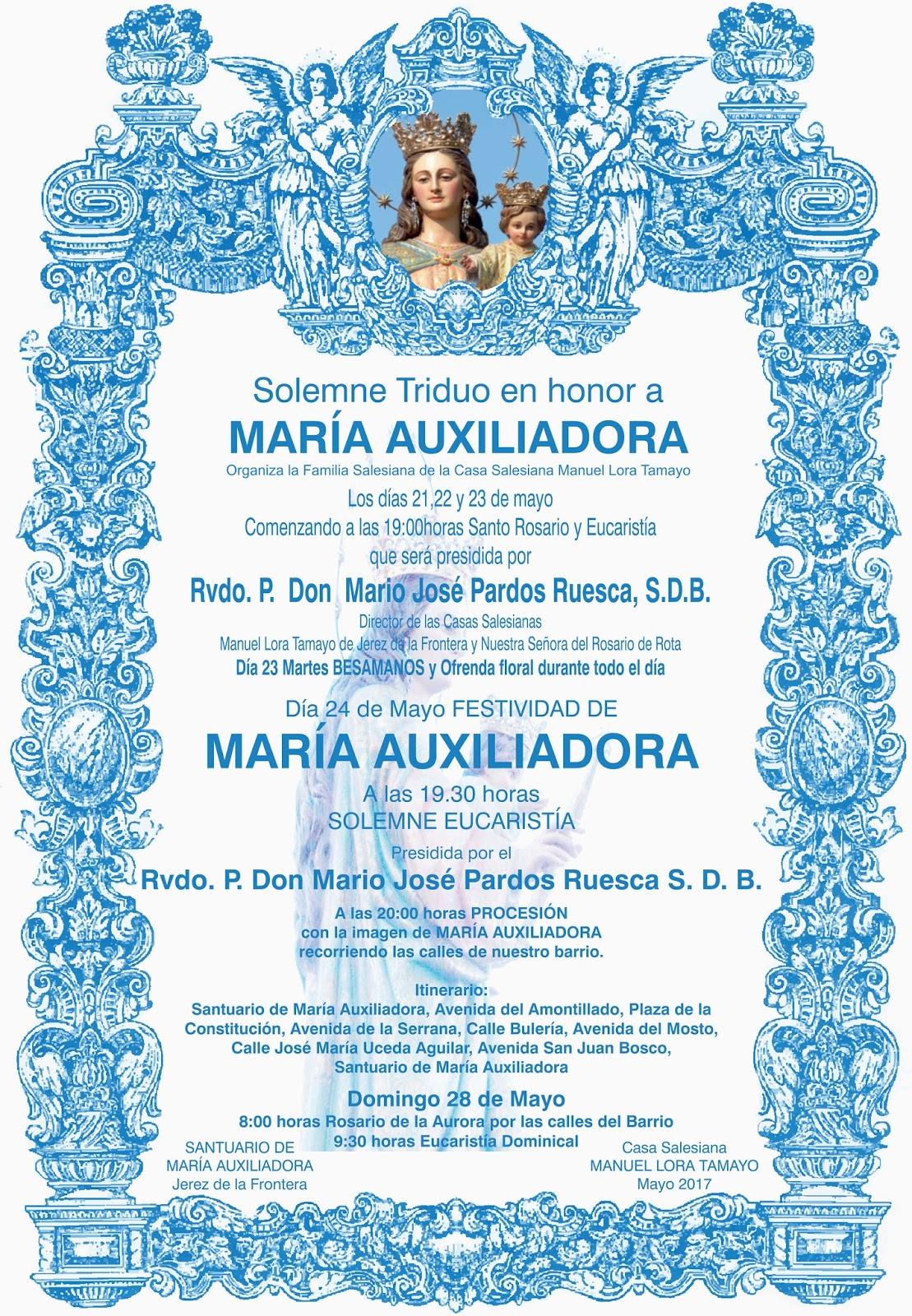 Triduo a María Auxiliadora 2017 celeste-1