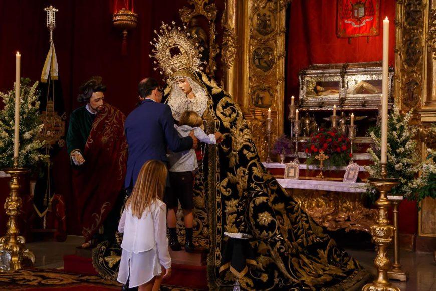 La Piedad en la Capilla del Calvario / Cristo García