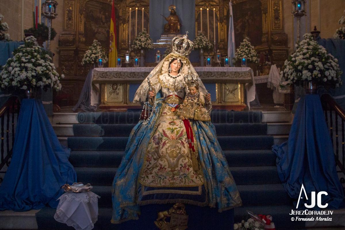 Besamanos Maria Stma. de la Paz y Concordia Gloriosa – Inmaculada Jerez 2017 (4)