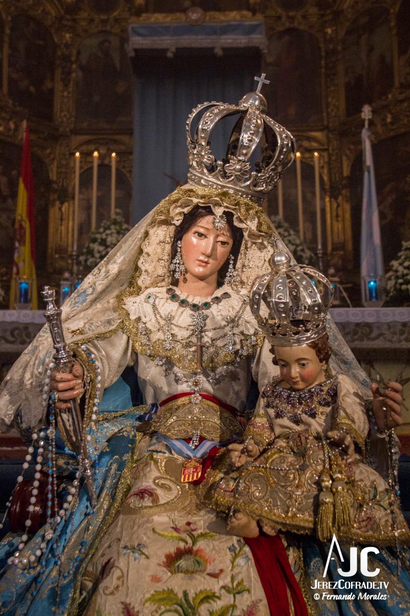 Besamanos Maria Stma. de la Paz y Concordia Gloriosa – Inmaculada Jerez 2017 (5)