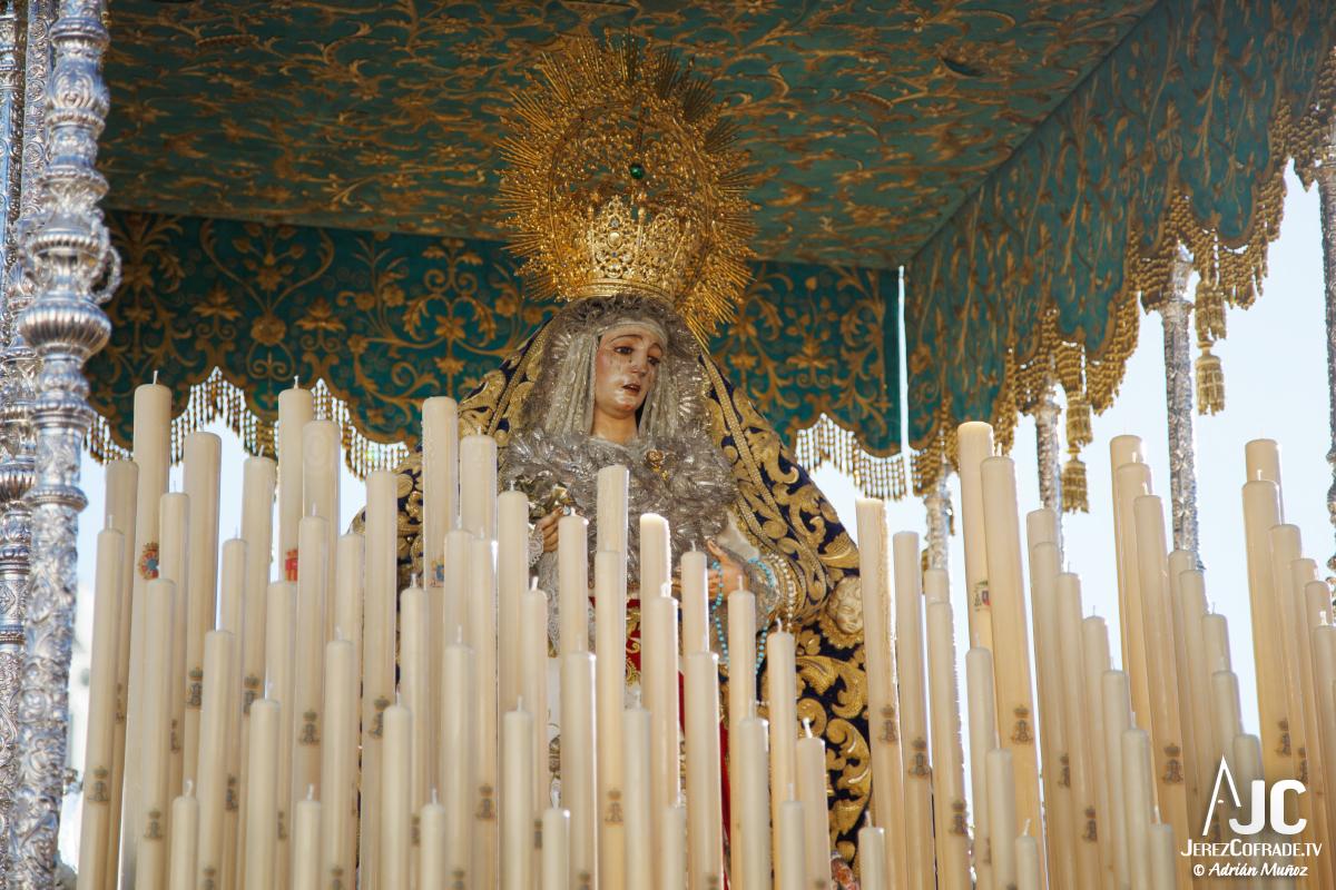 Extraordinaria Amargura Ida Catedral Jerez 2017 (1)