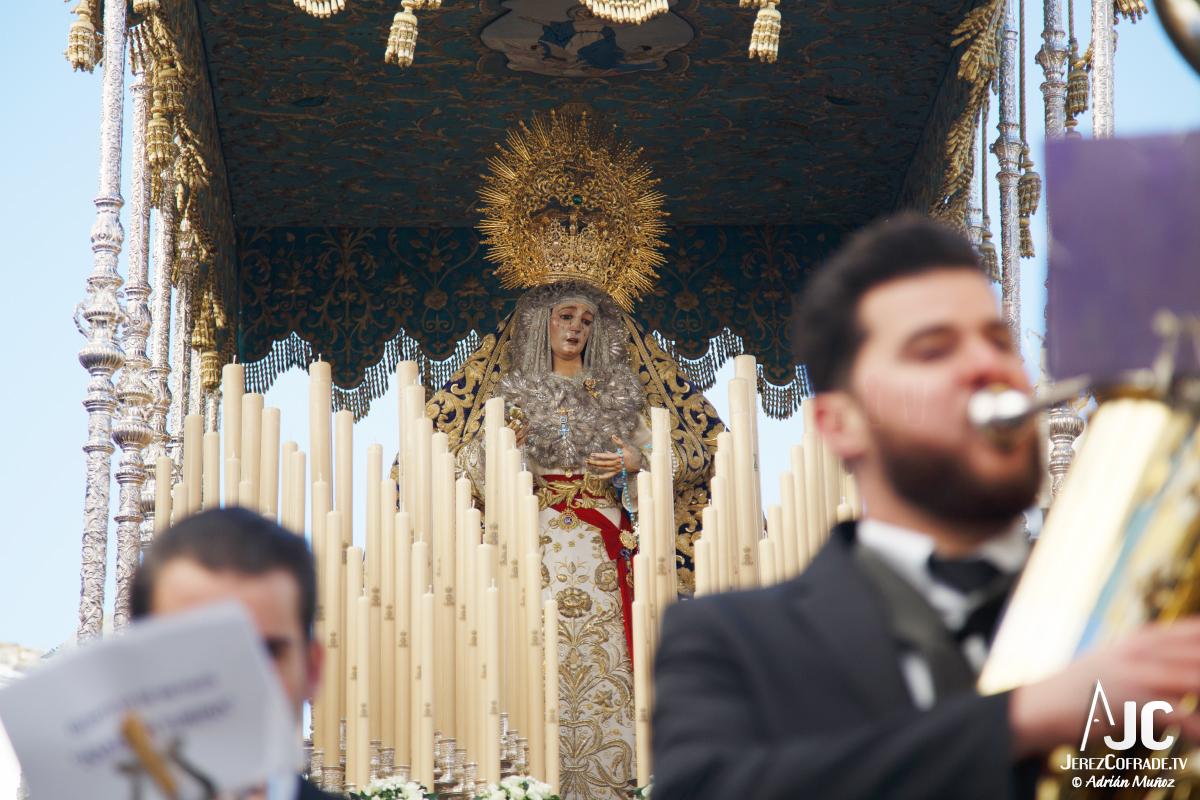 Extraordinaria Amargura Ida Catedral Jerez 2017 (2)