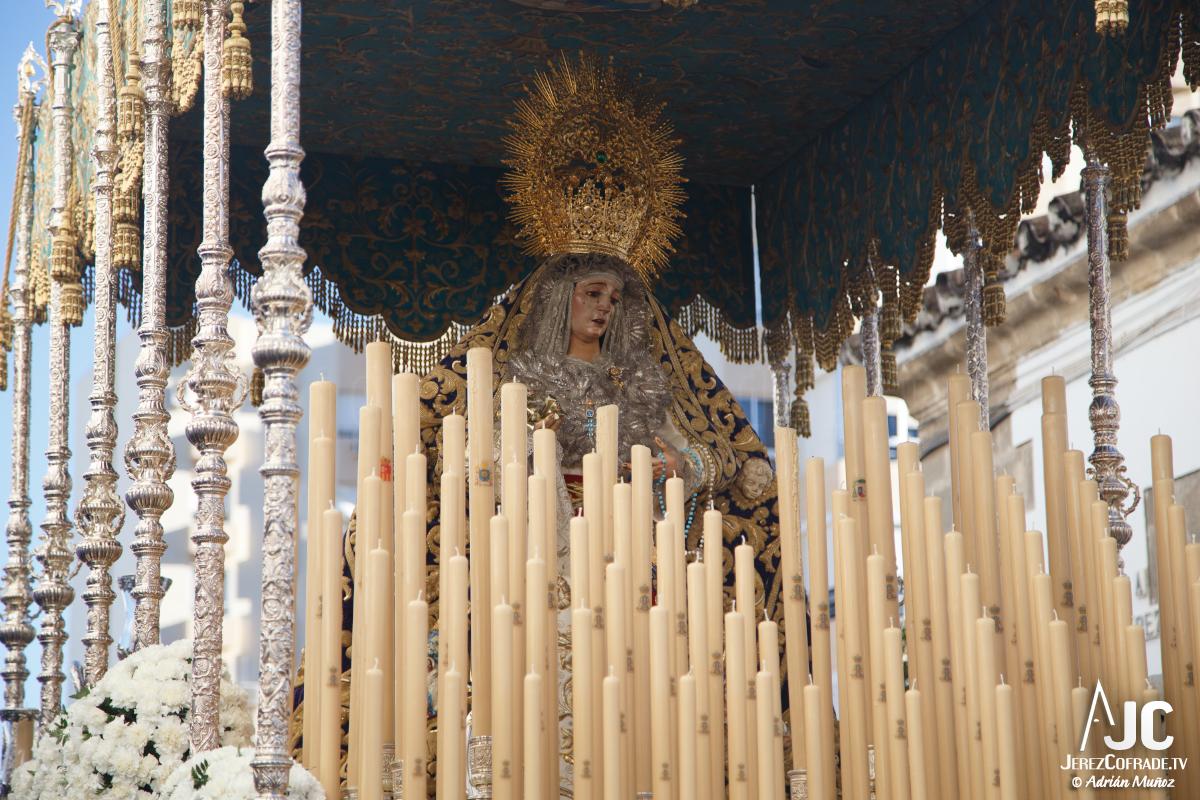 Extraordinaria Amargura Ida Catedral Jerez 2017 (4)