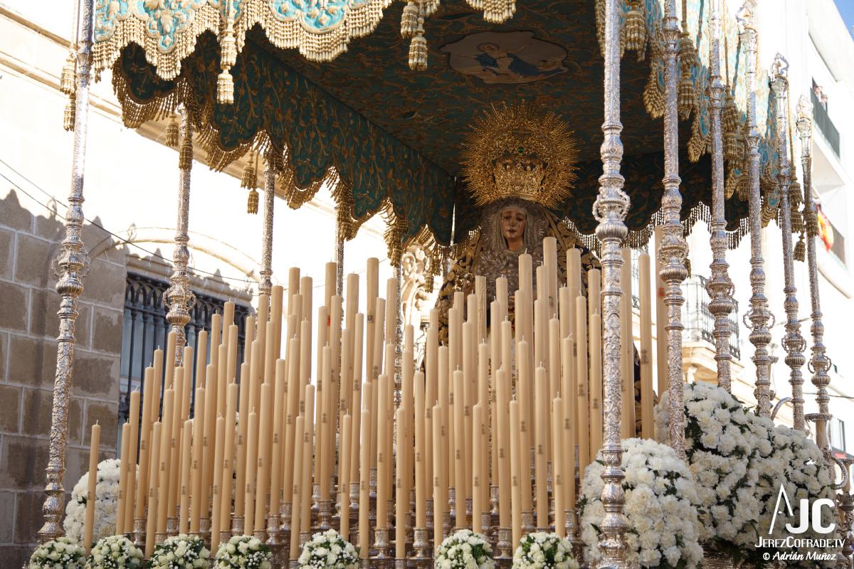 Extraordinaria Amargura Ida Catedral Jerez 2017 (5)