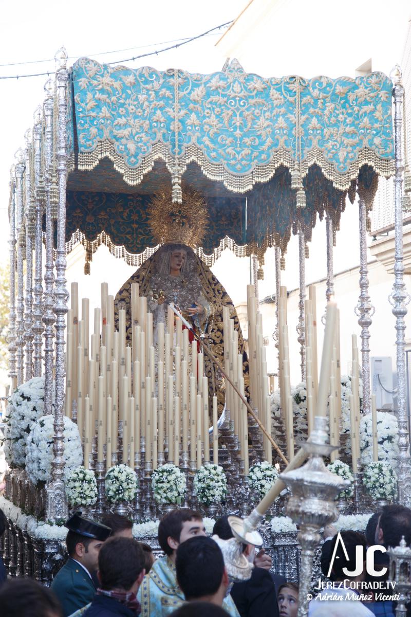 Extraordinaria Amargura Ida Catedral Jerez 2017 (6)