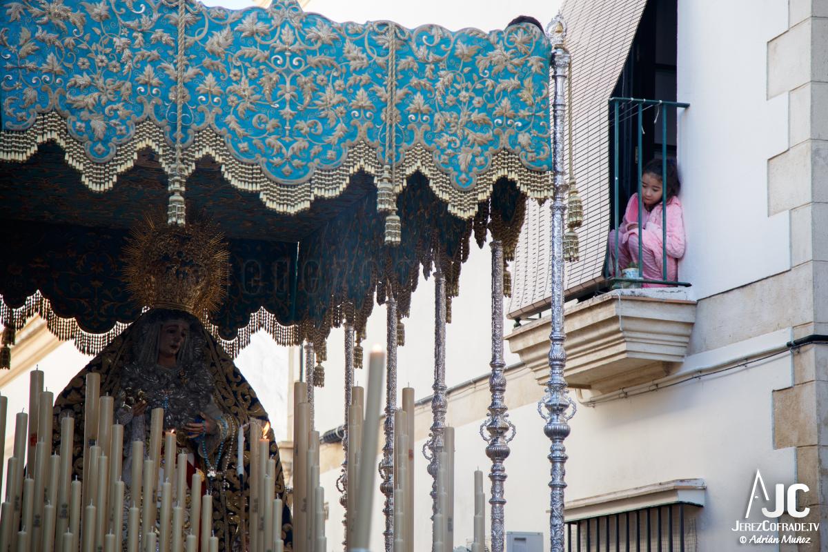 Extraordinaria Amargura Ida Catedral Jerez 2017 (7)