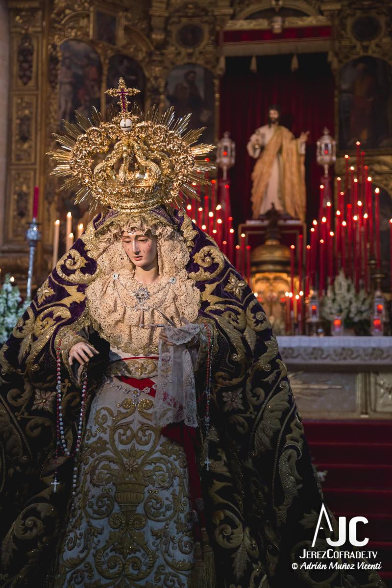 Besamanos a Maria Stma. de la Paz y Concordia – Jerez 2018 (2)