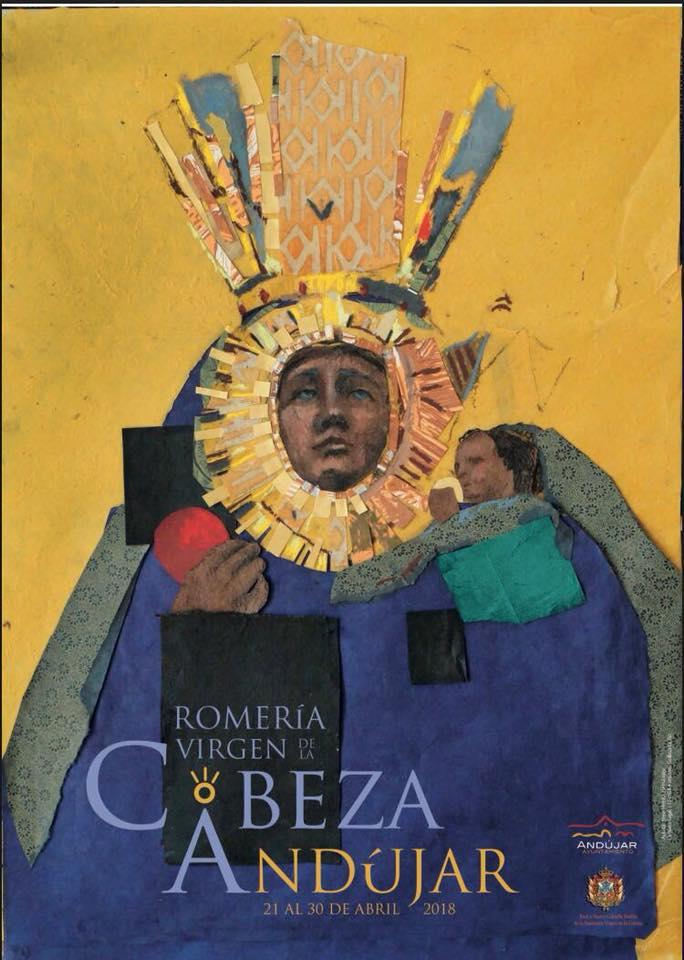 cartel romeria virgen cabeza 2018