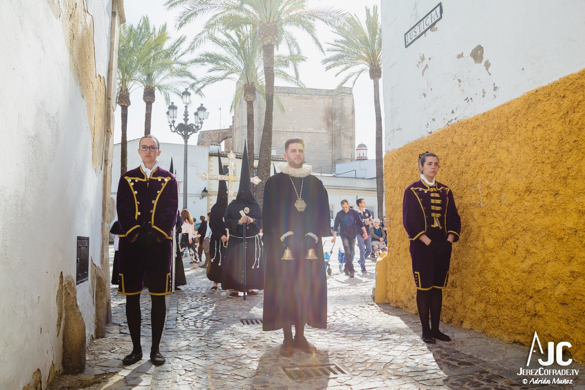Traslado al sepulcro Santa Marta – Miercoles Santo Jerez 2018 (1)