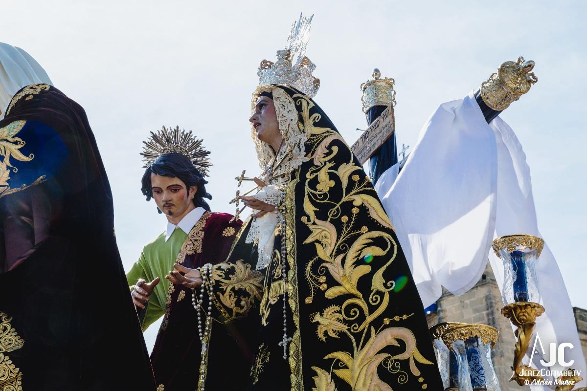 Traslado al sepulcro Santa Marta – Miercoles Santo Jerez 2018 (2)