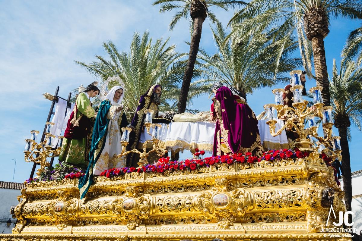 Traslado al sepulcro Santa Marta – Miercoles Santo Jerez 2018 (4)