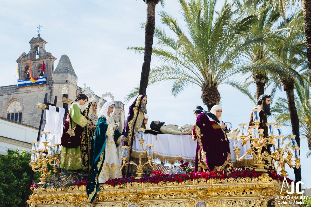 Traslado al sepulcro Santa Marta – Miercoles Santo Jerez 2018 (5)