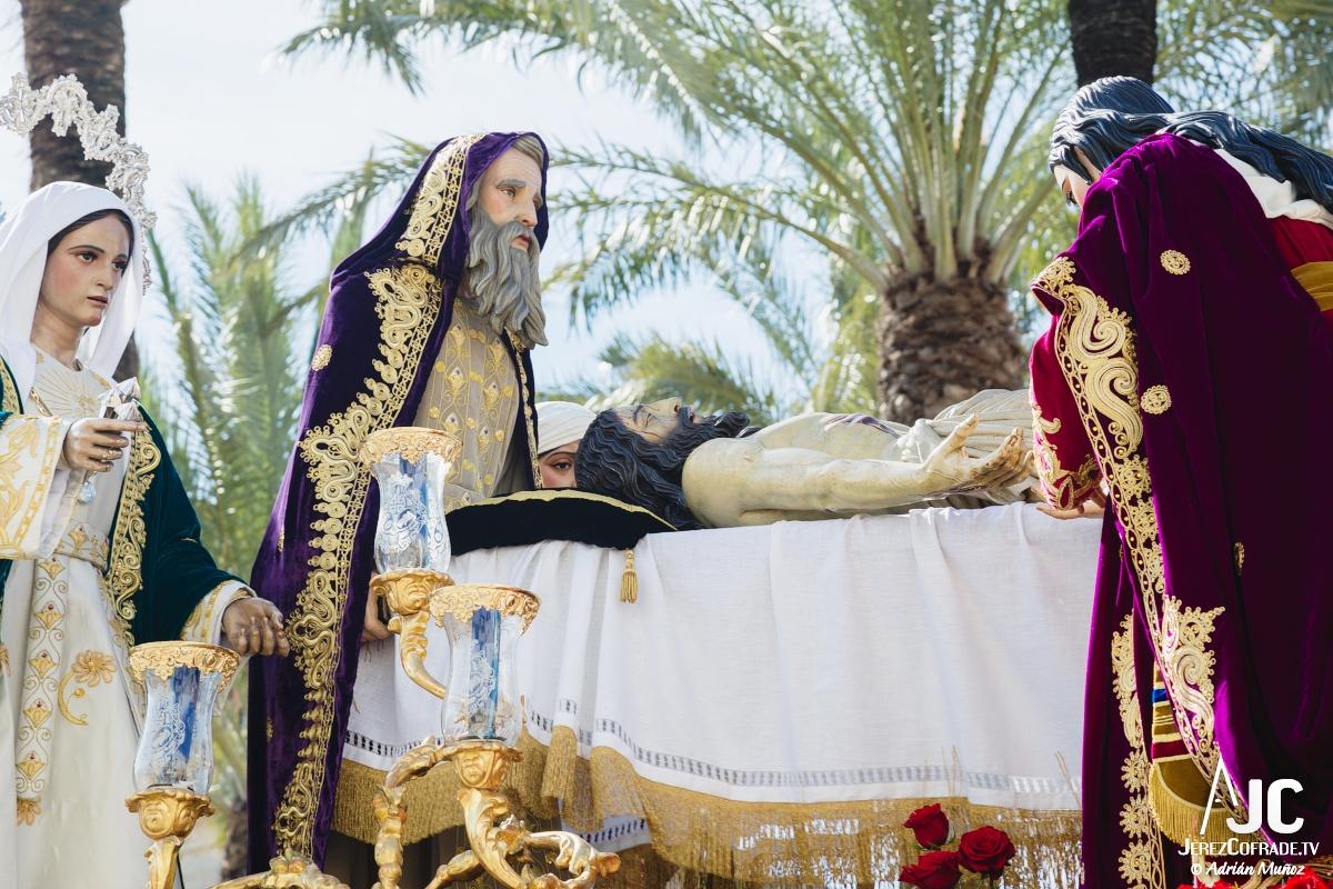Traslado al sepulcro Santa Marta – Miercoles Santo Jerez 2018 (6)