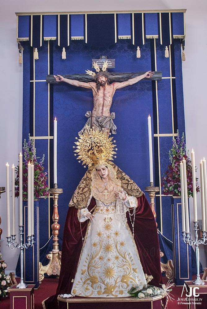 Maria Stma. del Amparo – Segundo Domingo de Cuaresma Jerez 2019 (1)