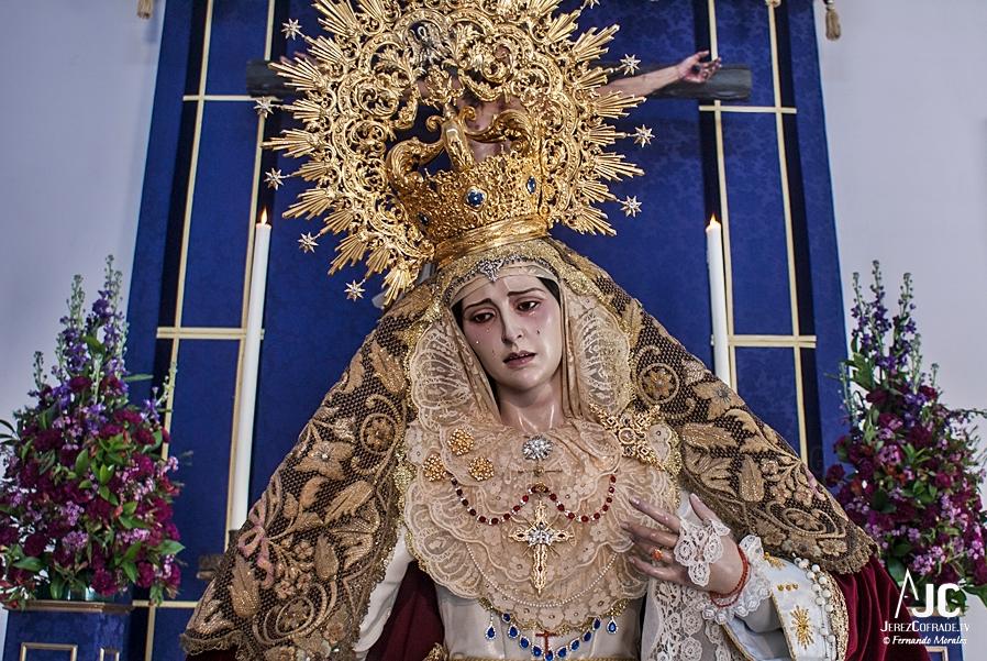 Maria Stma. del Amparo – Segundo Domingo de Cuaresma Jerez 2019 (3)