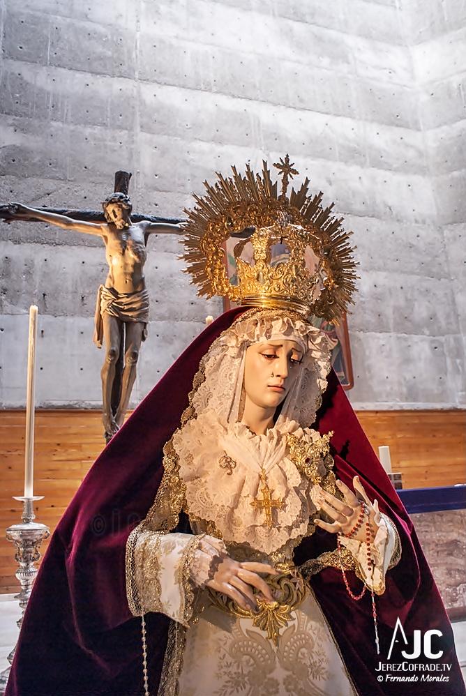 Maria Santisima de las Bienaventuranzas – Cuarto Domingo de Cuaresma Jerez 2019 (4)
