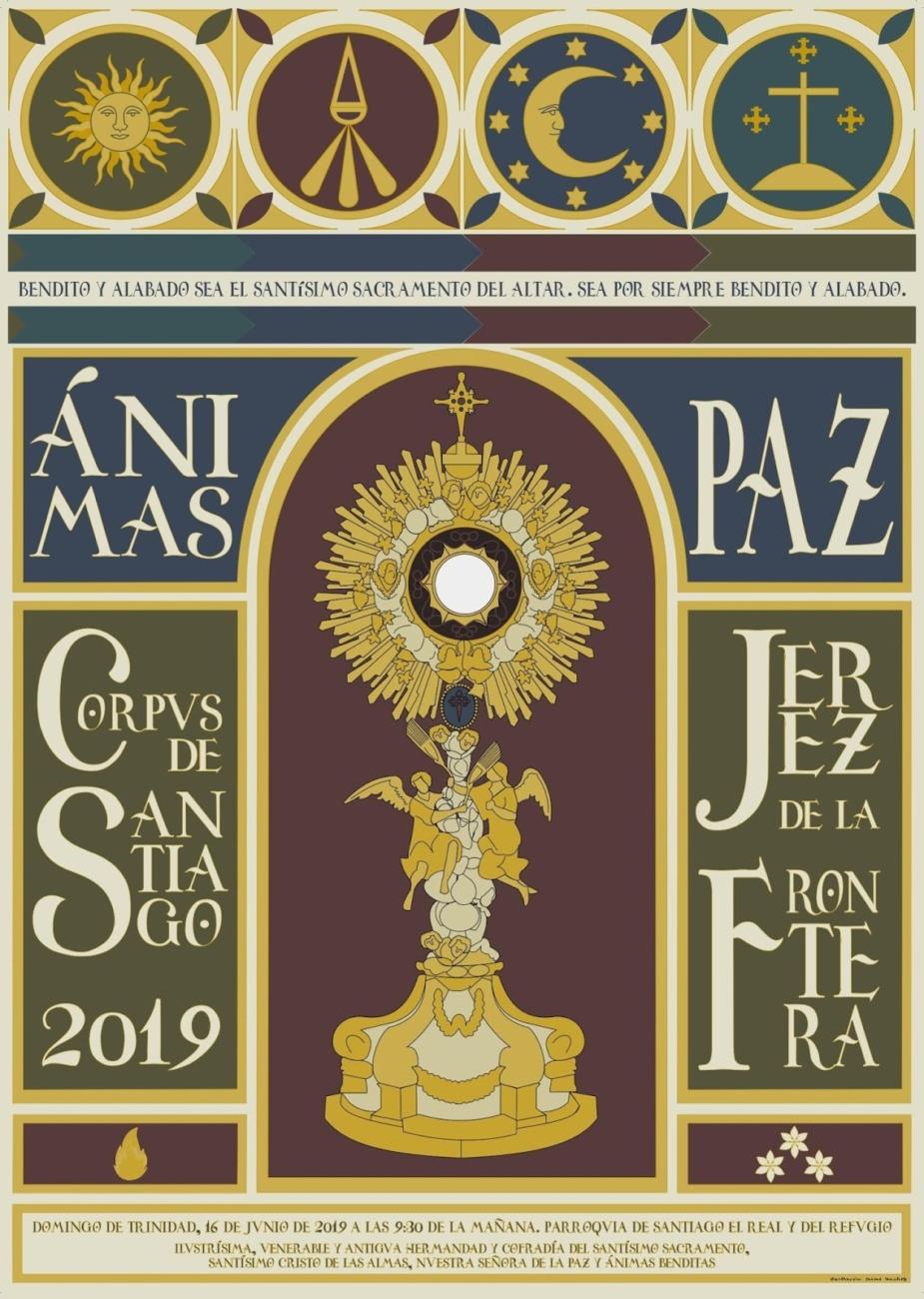 Cartel Corpus Santiago 2019