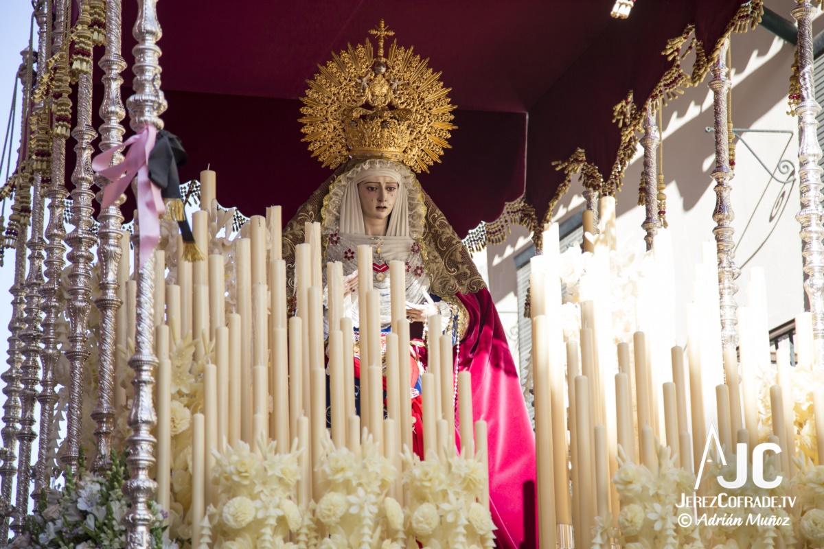 María Santisima del Refugio de los Pecadores – Lunes Santo Jerez 2019 (1)
