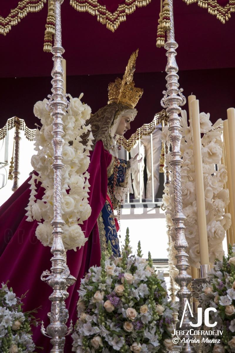 María Santisima del Refugio de los Pecadores – Lunes Santo Jerez 2019 (2)