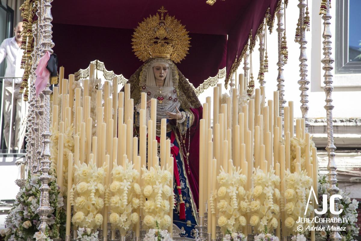 María Santisima del Refugio de los Pecadores – Lunes Santo Jerez 2019 (5)