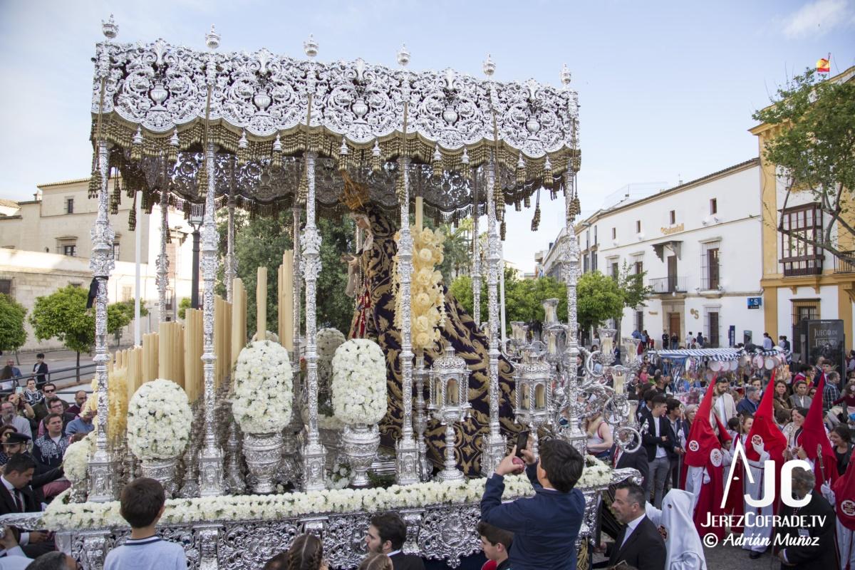 Maria Santisima de la Paz y Concordia – Lunes Santo Jerez 2019 (10)