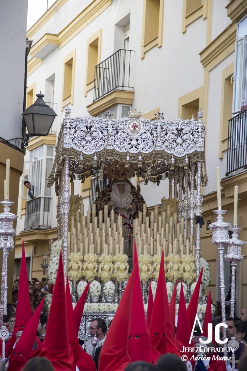 Maria Santisima de la Paz y Concordia – Lunes Santo Jerez 2019 (3)