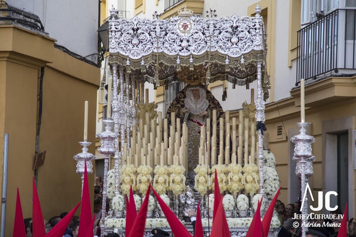 Maria Santisima de la Paz y Concordia – Lunes Santo Jerez 2019 (4)