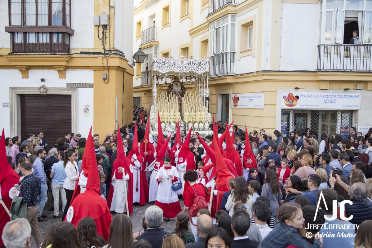 Maria Santisima de la Paz y Concordia – Lunes Santo Jerez 2019 (5)