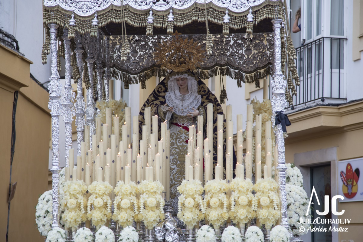 Maria Santisima de la Paz y Concordia – Lunes Santo Jerez 2019 (6)