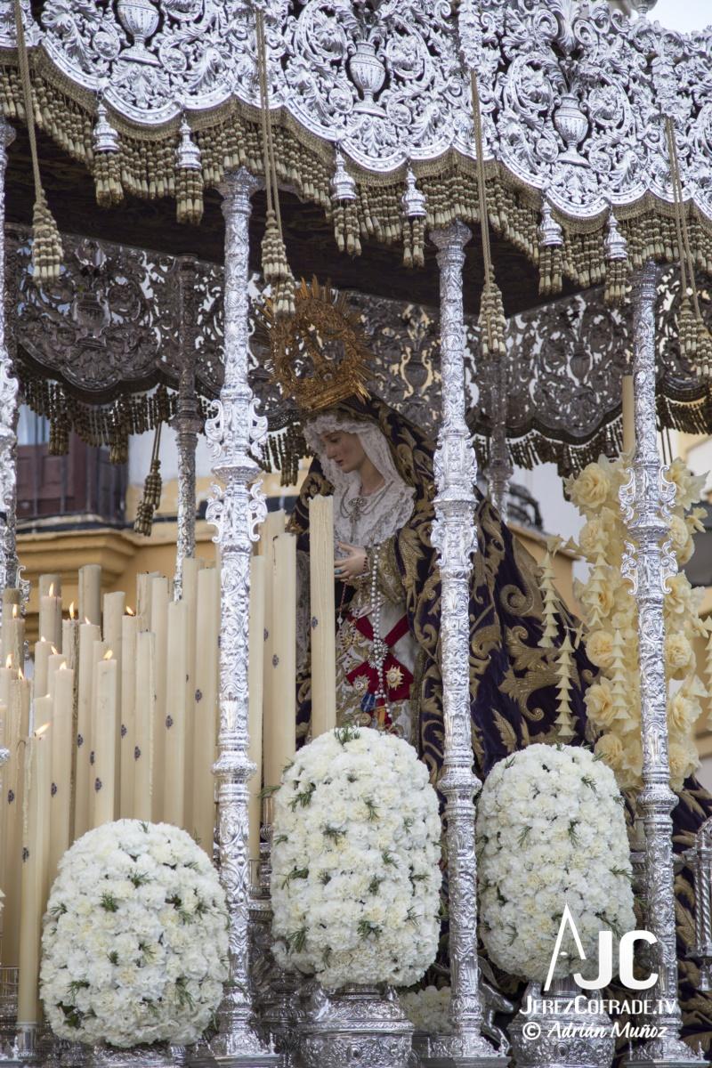 Maria Santisima de la Paz y Concordia – Lunes Santo Jerez 2019 (8)