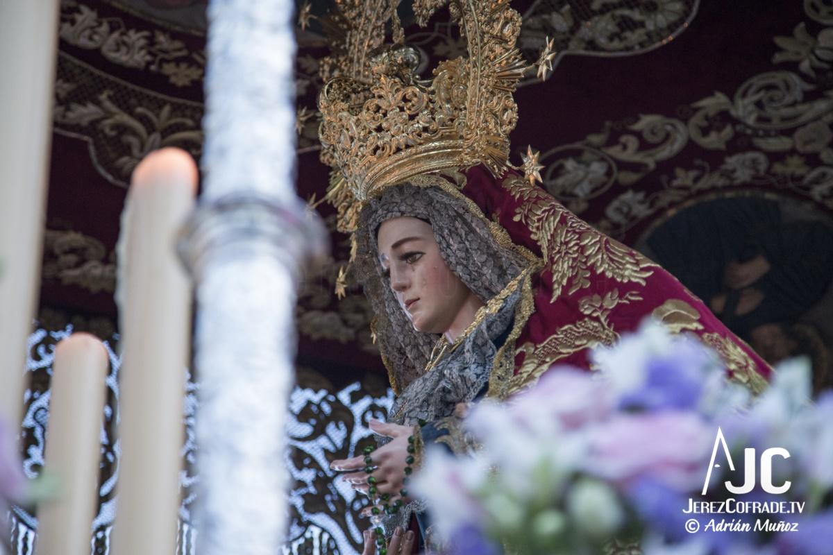 Nuestra Sra. del Socorro – Lunes Santo Jerez 2019 (10)
