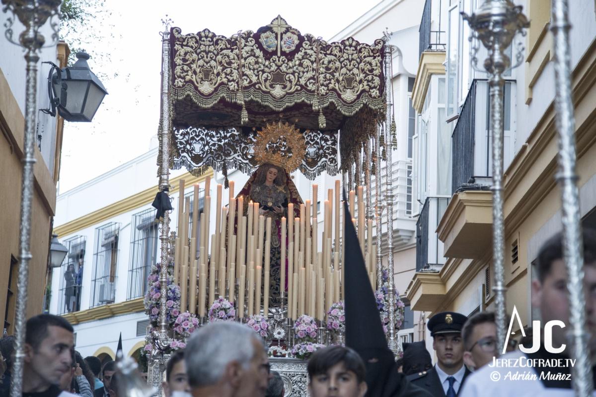 Nuestra Sra. del Socorro – Lunes Santo Jerez 2019 (2)